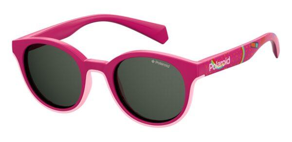 Детские очки POLAROID PLD 8036/S FUCHSIA солнцезащитные купить