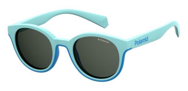 Детские очки POLAROID PLD 8036/S AZURE солнцезащитные купить