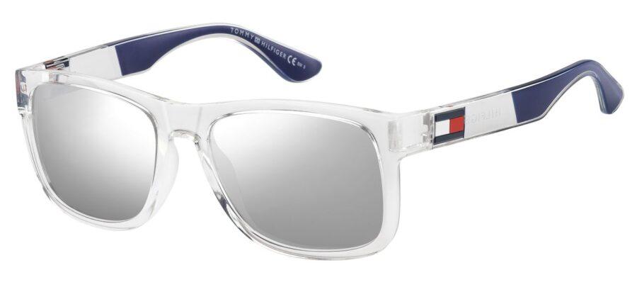 Очки TOMMY HILFIGER TH 1556/S CRYS SILV солнцезащитные купить